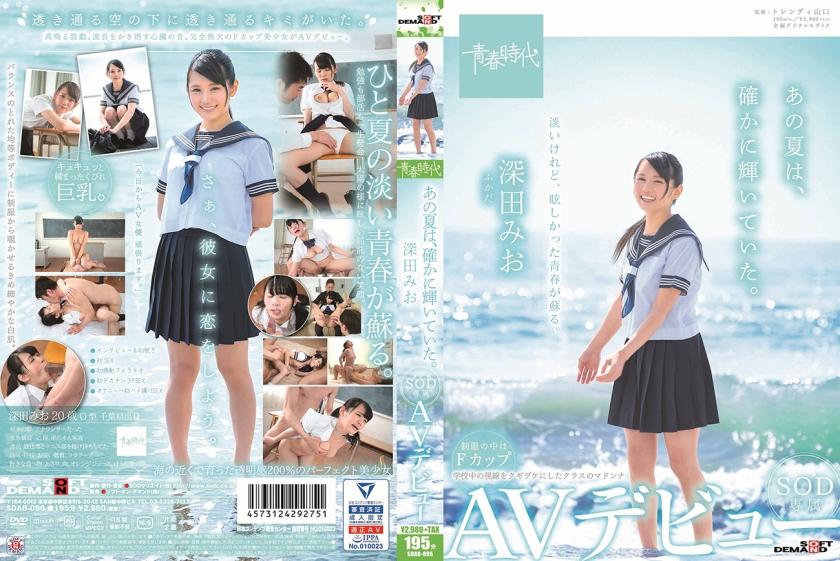 【エロ動画】あの夏は、確かに輝いていた。 深田みお SOD専属AVデビューのトップ画像